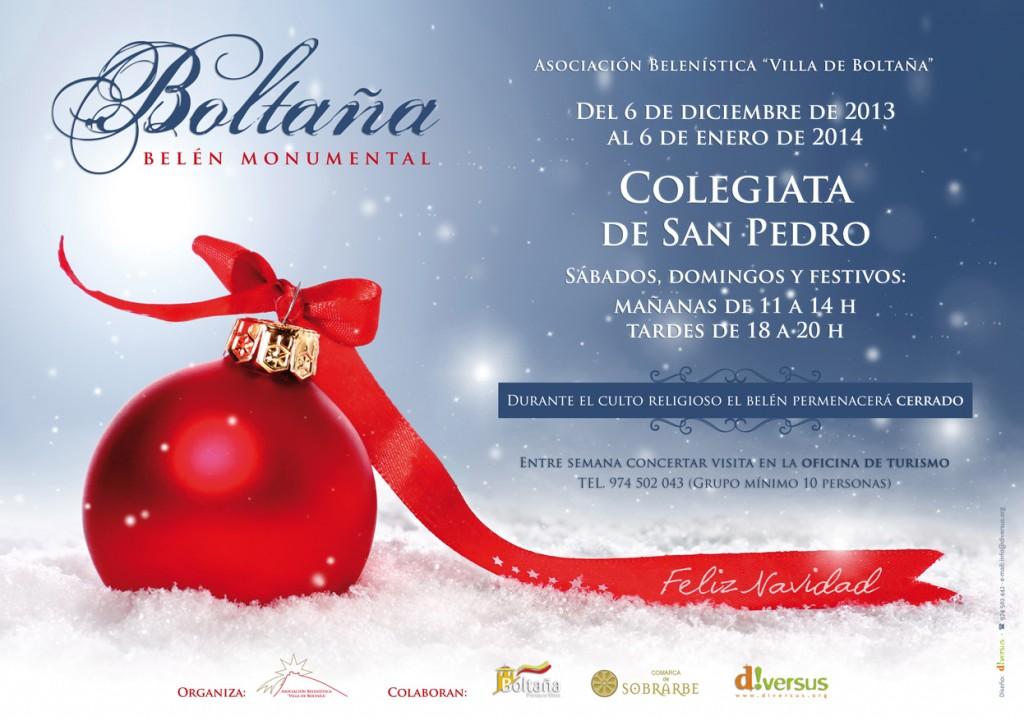 belen de navidad boltaña 2013